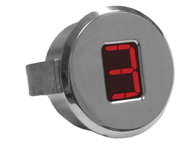 "A-TCM3703 - Digital Gear Indicator, 1.75"", Polished"