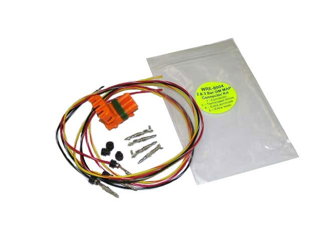 A-WRE8004 - 2 & 3 Bar GM, MAP Connector Kit